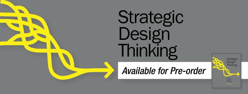 Strategic Design Thinking Title Graphic