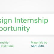 Design Internship details graphic