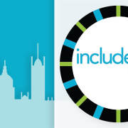 Image of Include 2015 logo with London skyline behind it.