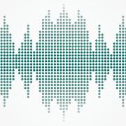 Illustration of audio waves