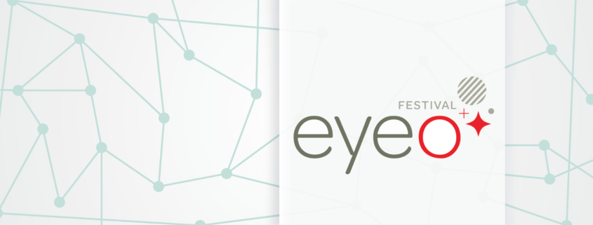 Illustration with Eyeo logo